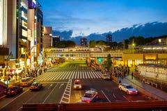 japan Tokyo Secteur d'Ueno le soir Photo stock