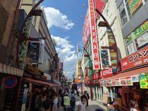 japan Tokyo Secteur d'Ueno Marché d'Ameya-Yokocho Images stock