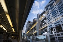 Japan - Tokyo - Shibaura-futō Station royalty free stock images