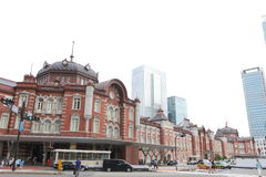 Japan : Tokyo Station Stock Image