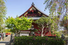 japan Tokyo Templet i Ueno parkerar Royaltyfria Foton