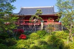 japan Tokyo Templet i Ueno parkerar Arkivbilder