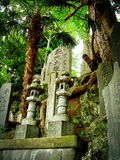 Japan - tombstones Stock Photos