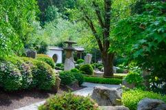 Japan trädgård arkivfoto