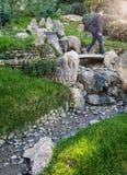 Japan-trädgård Fotografering för Bildbyråer