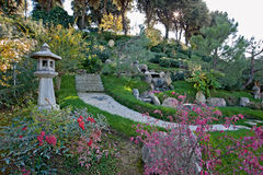 Japan-trädgård Arkivbild