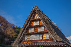 Japan tradition house's roof Stock Photography