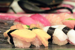 Japan traditional food Stock Images