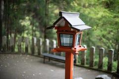 Japan traditional lamp. In Kurama , Kyoto Stock Photography