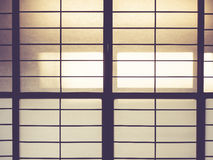 Japan traditional wall pattern background Stock Image