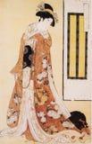 Japan traditionella dräkt Arkivfoto