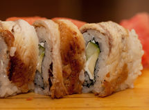 Japan-traditionelle Nahrung - Rolle Lizenzfreie Stockfotografie