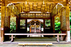 Japan traditionellt tempel Fotografering för Bildbyråer