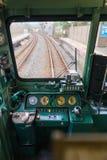 Japan train control room Royalty Free Stock Image