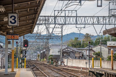 Japan train station Stock Images