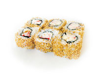 Japan trditional food - roll Stock Images