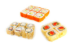 Japan trditional food - rolls Stock Photography