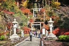 Japan turism Arkivfoton