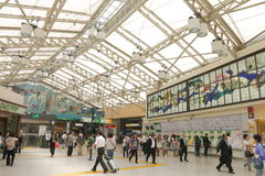 Japan : Ueno Station Stock Image