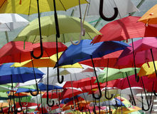 Japan Umbrellas Royalty Free Stock Photo