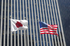 Japan and the United States Royalty Free Stock Photography