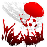 japan vektorworldcup royaltyfri illustrationer
