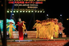 Japan-Vietnam Culture festival Stock Photography