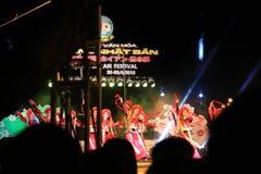 Japan-Vietnam-Kulturfestival Stockfotografie