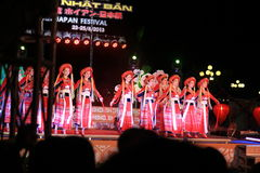 Japan-Vietnam-Kulturfestival Stockfotos
