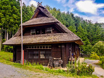 Japan Village. Beautiful house japan peaceful relax Stock Images