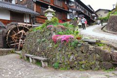 Japan village Royalty Free Stock Images