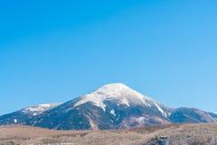 Japan vinterberg Arkivfoto