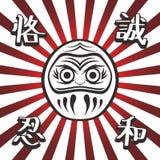 Japan warrior doll Royalty Free Stock Photos