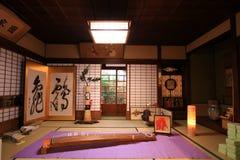 Japan Washitsu Arkivbild