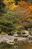 Japan Water Garden Pagoda. Royalty Free Stock Photography