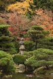 Japan Water Garden Pagoda. Royalty Free Stock Images