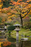 Japan Water Garden Pagoda. Stock Images