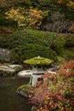 Japan Water Garden Pagoda. Royalty Free Stock Photo