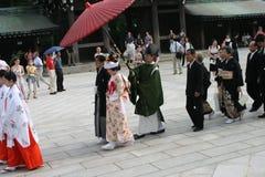 Japan Weding Arkivbild
