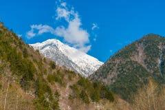 Japan Winter mountain. Stock Photography
