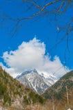 .Japan Winter mountain Stock Photography