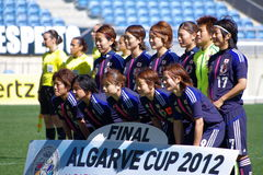 Japan women's national soccer team Stock Images