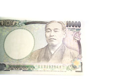 10000 Japan YEN Banknotes Royalty-vrije Stock Foto
