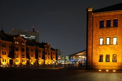 Japan : Yokohama Red Brick Warehouse Stock Photo