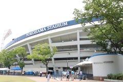 Japan: Yokohamastadion Stock Foto's