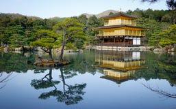 japan złoty pawilon Kyoto Fotografia Royalty Free