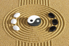 Japan zen garden Royalty Free Stock Image