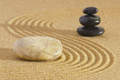 Japan zen garden Royalty Free Stock Photography