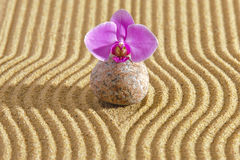 Japan zen garden Royalty Free Stock Images