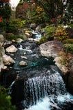 Japan Zen Garden. Waterfall at a Japanese Zen Garden, Kyoto Royalty Free Stock Photos